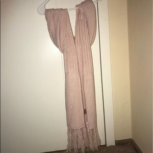 TWO knitted scarves
